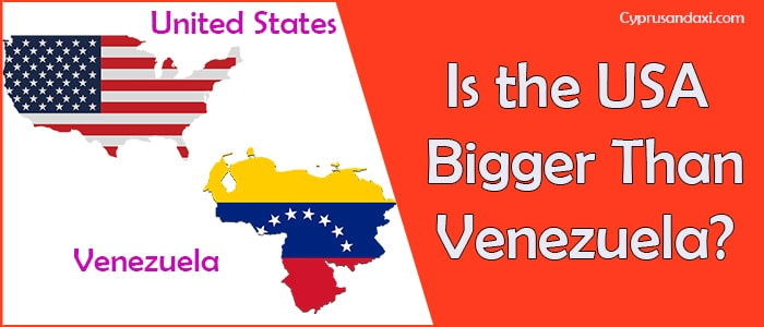 Is the United States of America Bigger Than Venezuela