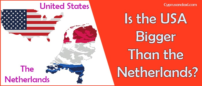 Is the United States of America Bigger Than the Netherlands