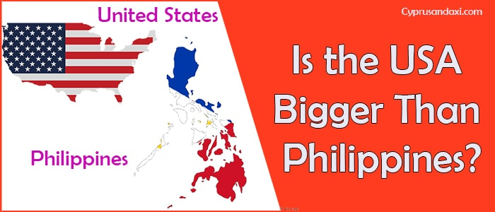 Is the United States of America Bigger Than the Philippines