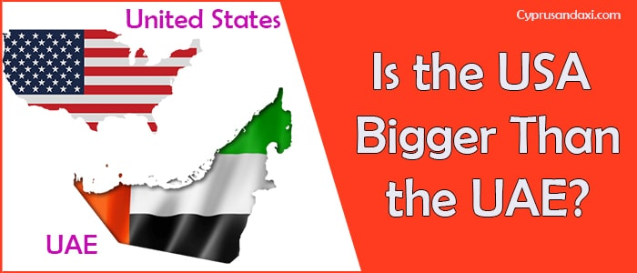 Is the United States of America Bigger Than the United Arab Emirates