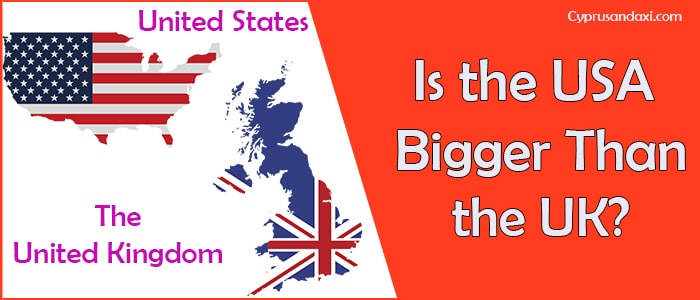 Is the United States of America Bigger Than the United Kingdom