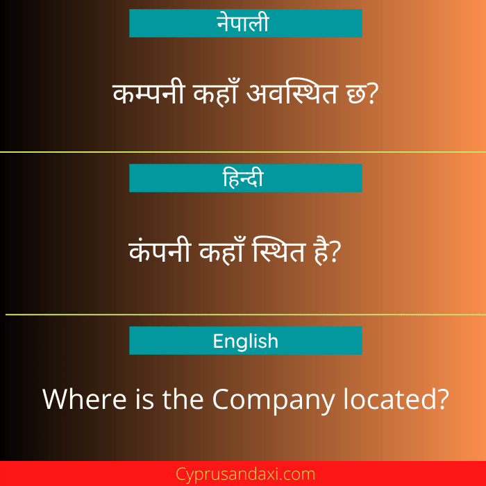 Where is the Company located