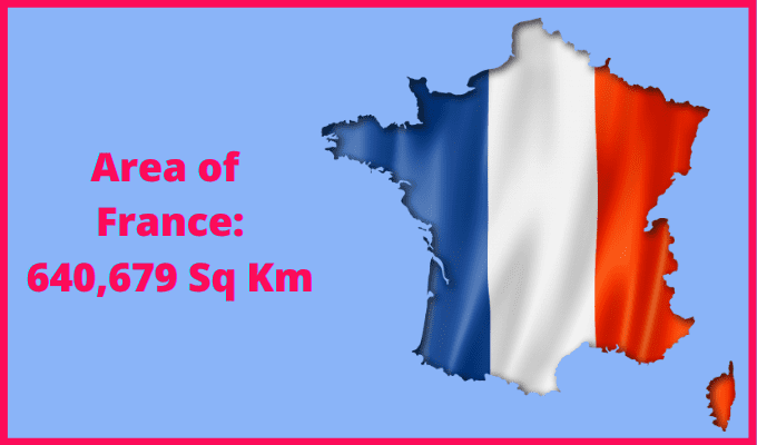Area of France compared to Sicily