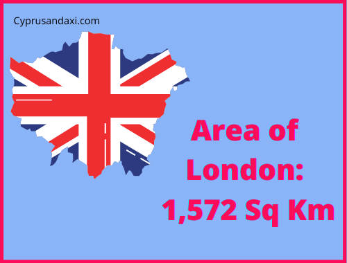 Area of London compared to Sicily