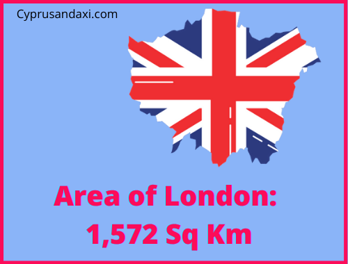 Area of London compared to Tenerife