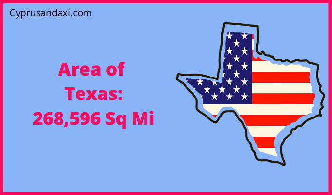 Area of Texas compared to Pakistan