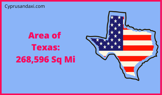 Area of Texas compared to South Africa