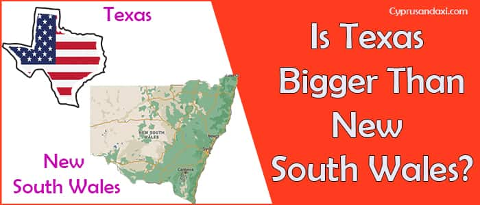 Is Texas Bigger than New South Wales