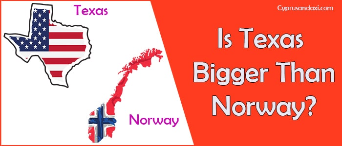 Is Texas Bigger than Norway