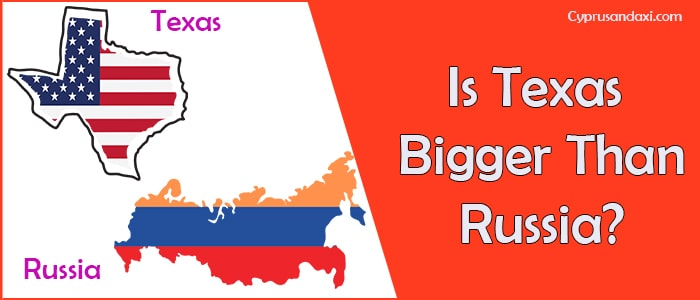 Is Texas Bigger than Russia