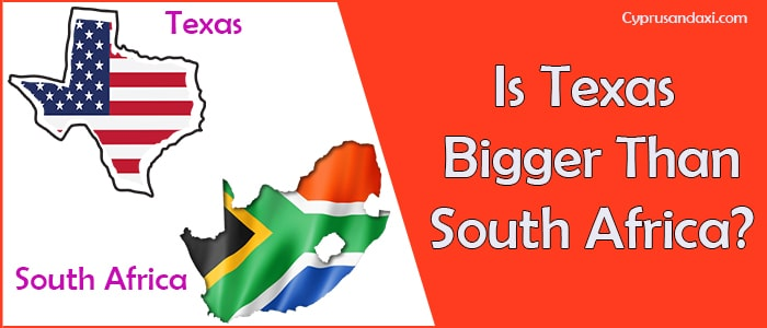 Is Texas Bigger than South Africa