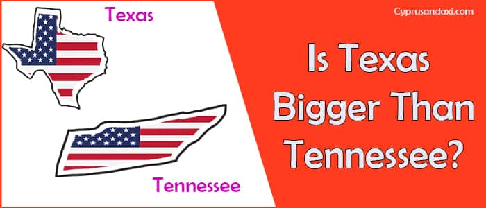 Is Texas Bigger than Tennessee