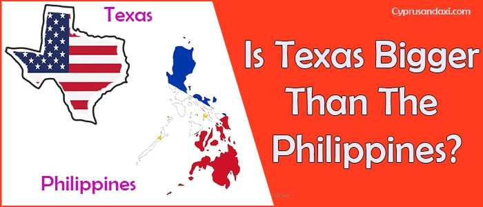 Is Texas Bigger than the Philippines