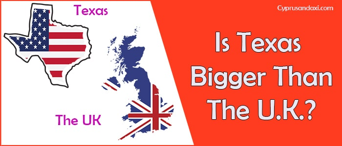 Is Texas Bigger than the UK