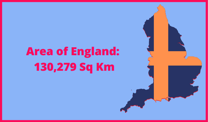 Area of England compared to New Zealand