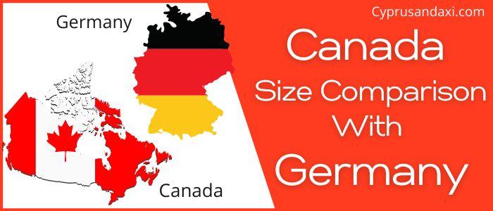 Is Canada Bigger Than Germany