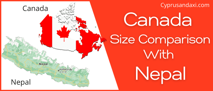 Is Canada Bigger Than Nepal