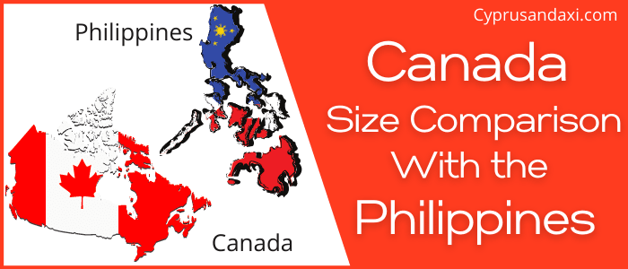 Is Canada Bigger Than The Philippines
