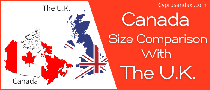 Is Canada Bigger Than The UK