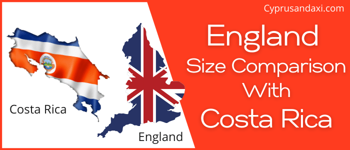 Is England Bigger than Costa Rica