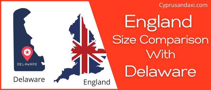 Is England Bigger than Delaware