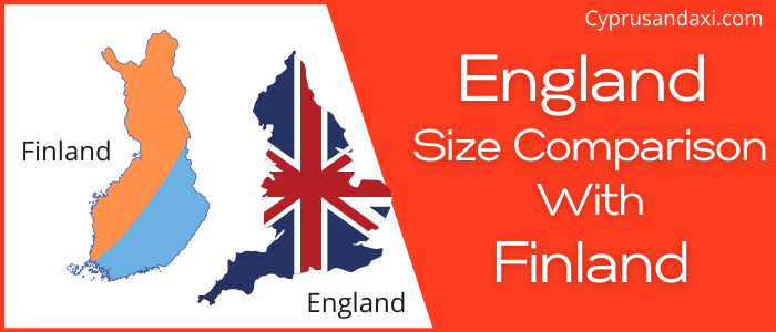 Is England Bigger than Finland