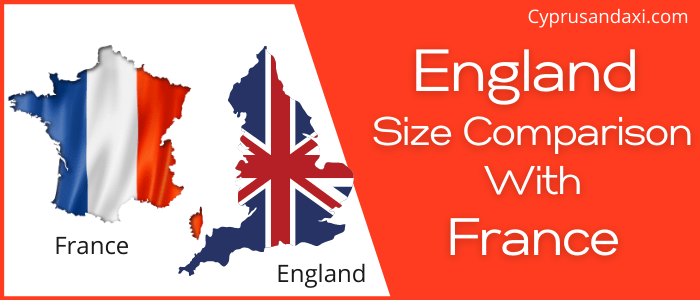 Is England Bigger than France