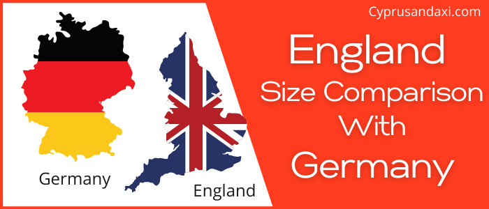 Is England Bigger than Germany