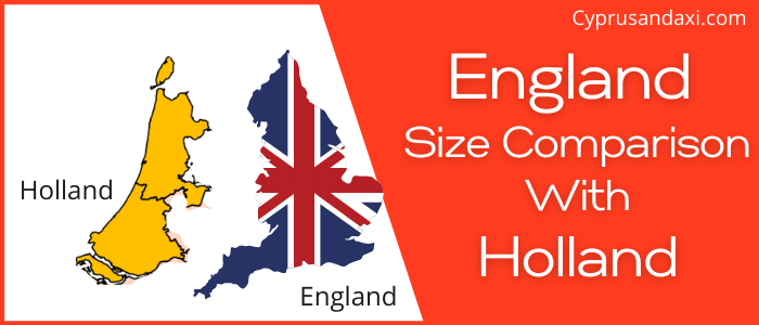 Is England Bigger than Holland