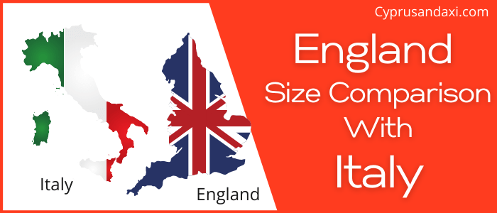 Is England Bigger than Italy