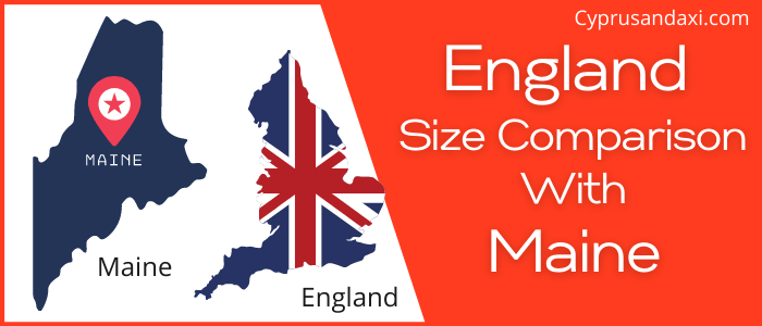 Is England Bigger than Maine