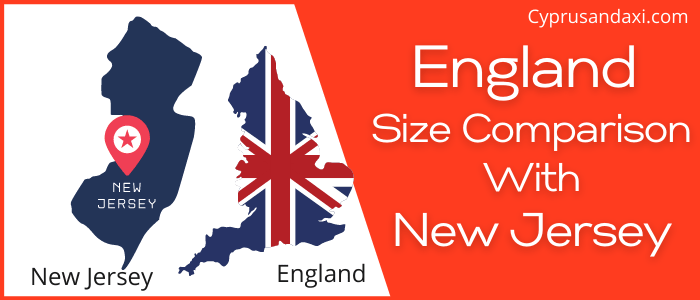 Is England Bigger than New Jersey