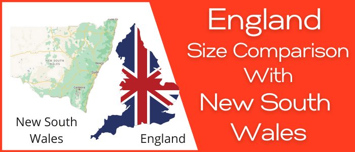 Is England Bigger than New South Wales