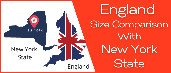 Is England Bigger than New York State