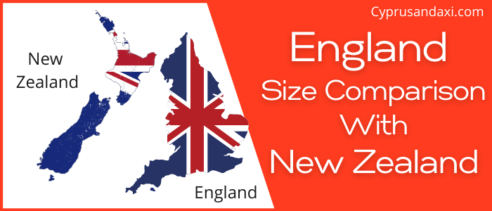 Is England Bigger than New Zealand