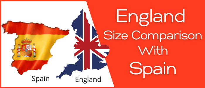 Is England Bigger than Spain