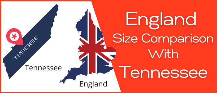 Is England Bigger than Tennessee