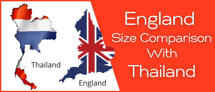 Is England Bigger than Thailand