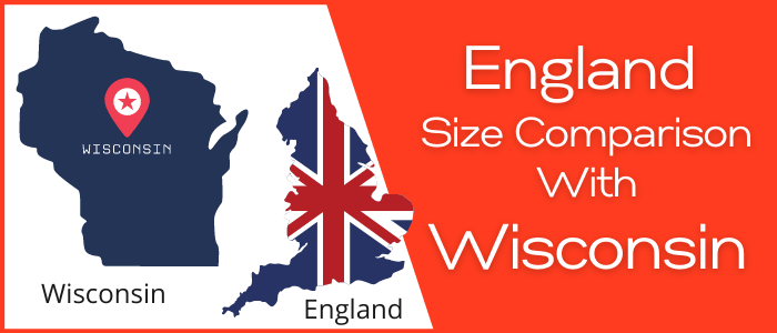 Is England Bigger than Wisconsin