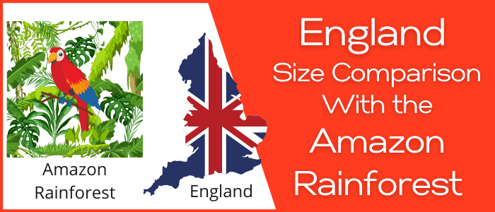 Is England Bigger than the Amazon Rainforest
