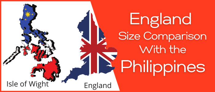 Is England Bigger than the Philippines