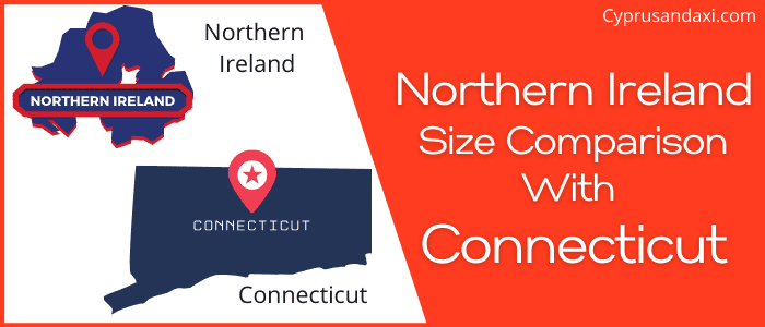 Is Northern Ireland bigger than Connecticut