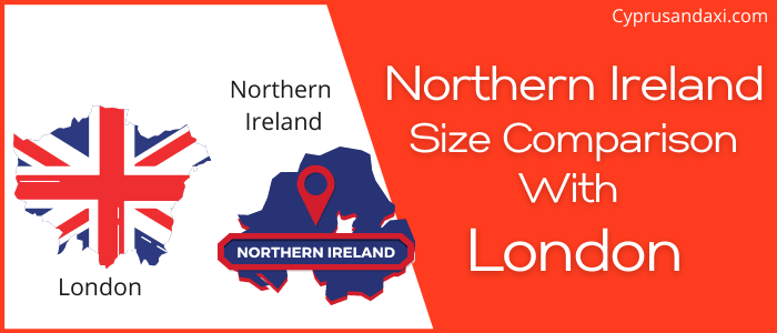 Is Northern Ireland bigger than London