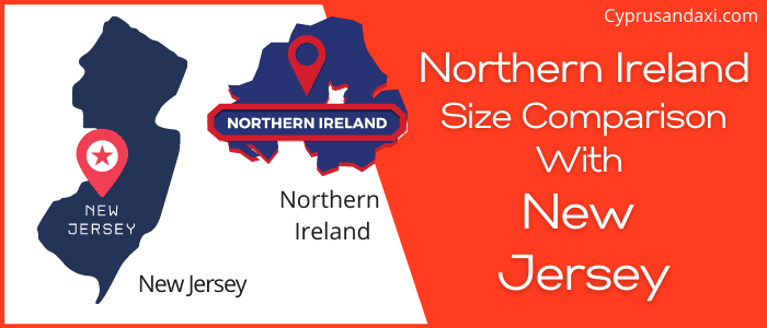 Is Northern Ireland bigger than New Jersey