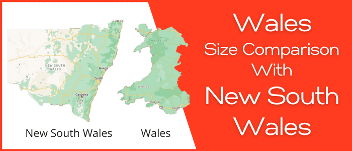 Is Wales bigger than New South Wales