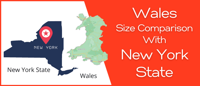 Is Wales bigger than New York State
