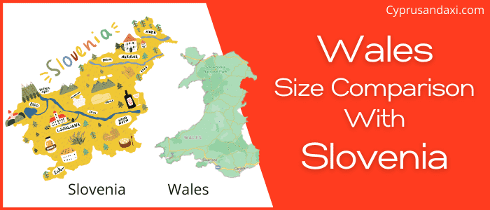 Is Wales bigger than Slovenia