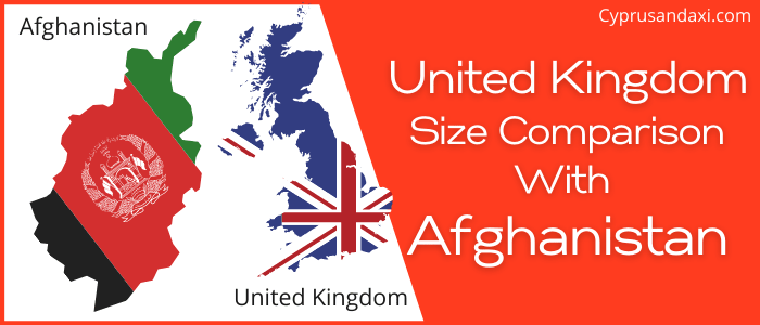 Is the UK bigger than Afghanistan