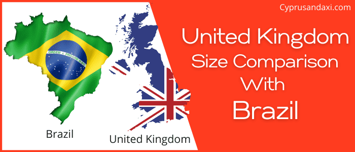 Is the UK bigger than Brazil
