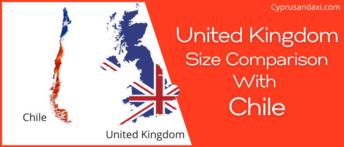 Is the UK bigger than Chile